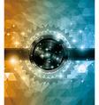 Retro deisgn disco flye vector image
