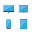 Smart technology icon vector image vector image