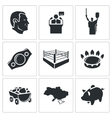 Ukraine Icons Set vector image vector image