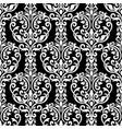 vintage decorative elements seamless damask vector image vector image