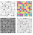 100 doctor icons set variant vector image vector image