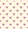 Abstract triangles seamless pattern hand drawn