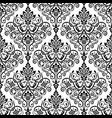 damask vintage seamless background pattern vector image vector image