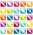 Food icons pattern vector image vector image