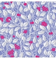 hand painted eaves seamless floral pattern vector image vector image