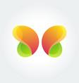 logo design element butterfly creative vector image
