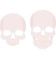 Skull Icon Set vector image vector image