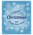 banner merry christmas vector image vector image