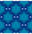Blue Seamless Polygonal Pattern vector image vector image