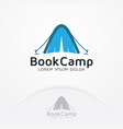 book camp logo vector image
