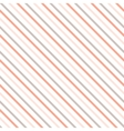 diagonal stripe seamless pattern vector image vector image