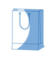 paper gift bag shopping merchandise vector image vector image