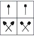 Set of Tools for Excavation vector image vector image