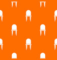 chair pattern seamless vector image vector image