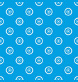 gear wheel pattern seamless blue vector image vector image