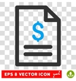 Price List Eps Icon vector image vector image