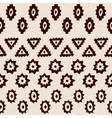 Vintage ethnic seamless borders vector image