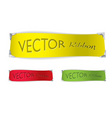 paper banner icon vector image