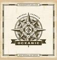vintage oceanic label