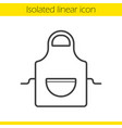 apron linear icon
