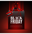 Black Friday Sale Template vector image