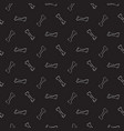 bones seamless pattern dog toys cute vector image