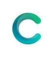 c letter c logo template abc c letter logo vector image