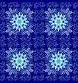flowers on blue neutral and violet colors flat vector image vector image