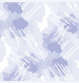 pastel blue and white shapes seamless pattern vector image