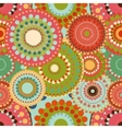 Seamless pattern spring baby with bright colorful vector image vector image
