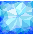 Winter blue ice background vector image
