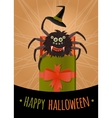 Funny surprise for Halloween vector image