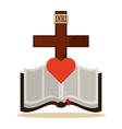 holi bible vector image