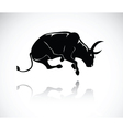 bull 4 vector image vector image