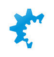 engineering gear cog clipped symbol design vector image vector image