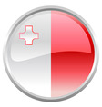 flag of Malta vector image vector image