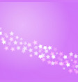 lilac background with bokeh lights vector image vector image