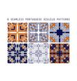 traditional ornate portuguese decorative vector image vector image