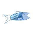 fish sea food fresh animal wild icon vector image