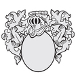 aristocratic emblem No2 vector image