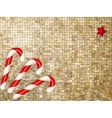 Christmas gold Background EPS 10 vector image vector image