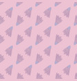 creative shuttlecock seamless pattern on pink vector image vector image