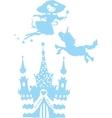 Fantasy silhouettes set vector image