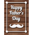 Happy Fathers Day Typographical Background vector image