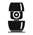life smart speaker icon simple style vector image vector image