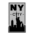 new york city t-shirt graphics vector image