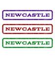 newcastle watermark stamp vector image
