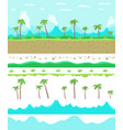 parallax ready game background layers seamless vector image