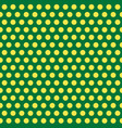 polka dots green and yellow abstract seamless vector image