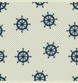 seamless pattern wheels and polka dot vector image
